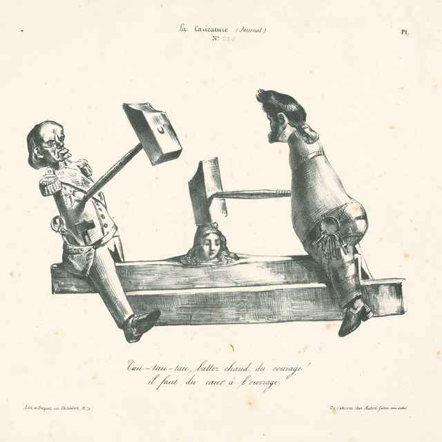 K robote treba odvahu a srdce - Grandville, Jean Ignace Isidore