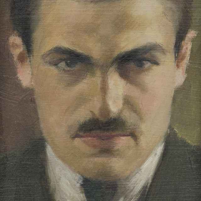 Autoportrét - Treskoň, Ladislav