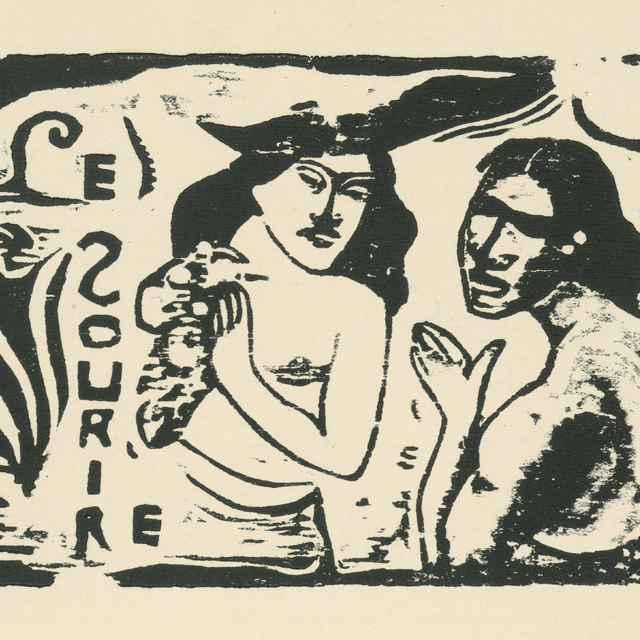Dvaja - Gauguin, Paul