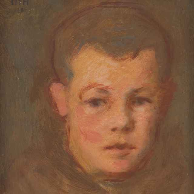 Hlava chlapca - Mitrovský, Milan Thomka