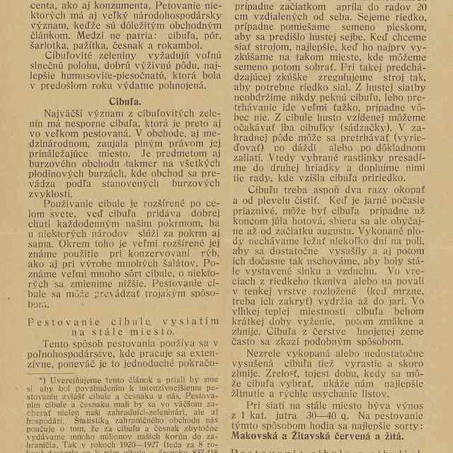 O pestovaní cibuľovitých zelenín - Frant., Lázár