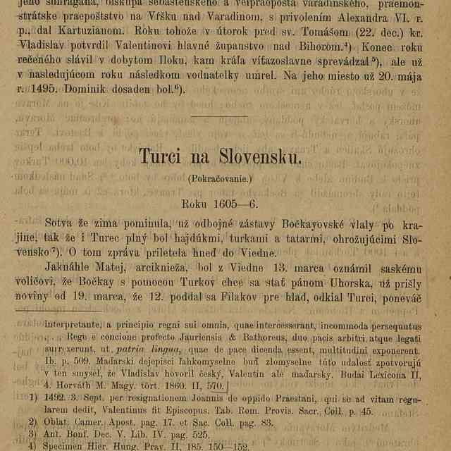 Turci na Slovensku