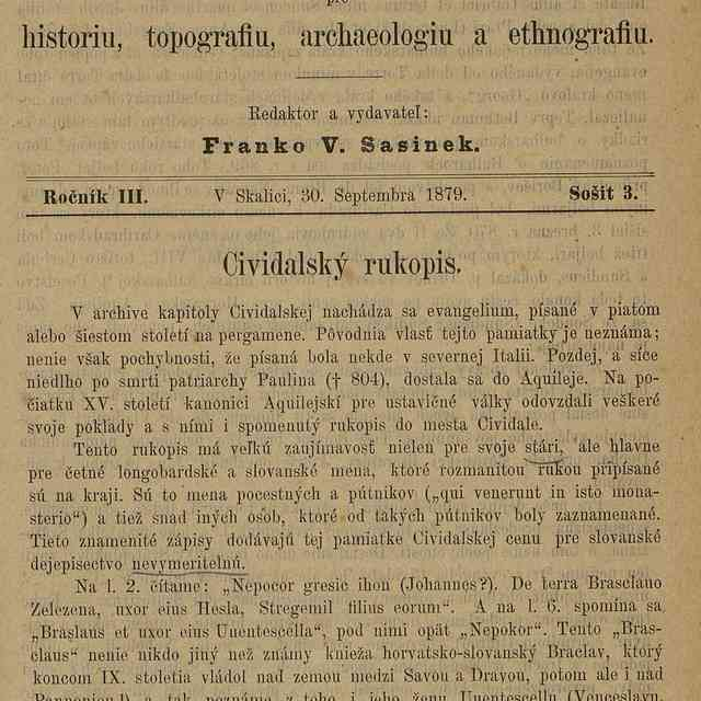 Cividalský rukopis