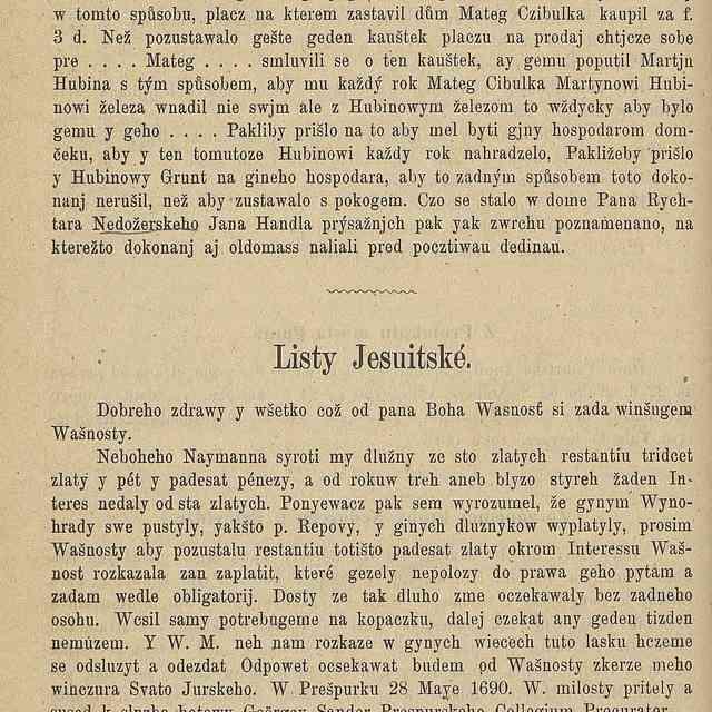 Listy Jesuitské