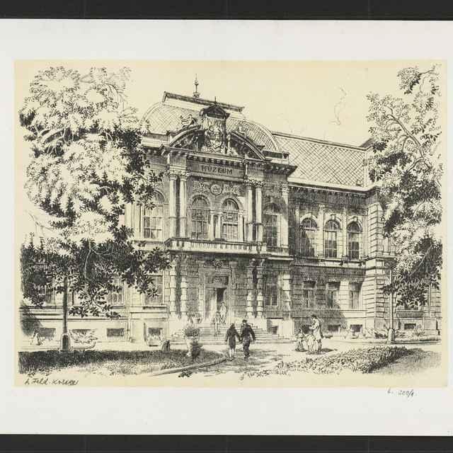 Budova Vsl.múzea v Košiciach