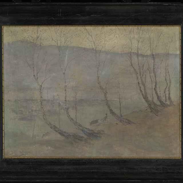 Ferdinand Katona: Tatry v hmle. - Katona Ferdinand