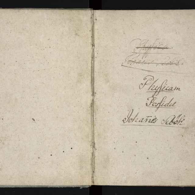 Učebnica z fyziky z roku 1794