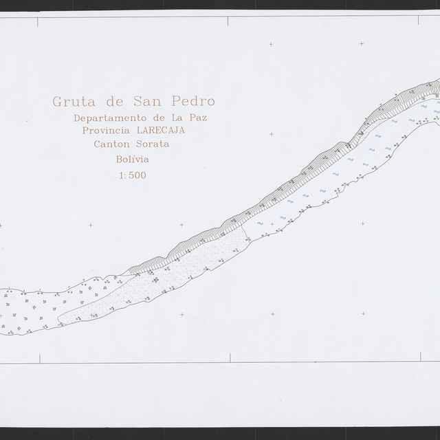 Gruta de San Pedro (plán) - Magdolen, Peter