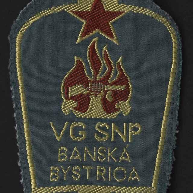 Nášivka rukávová VG SNP Banská Bystrica
