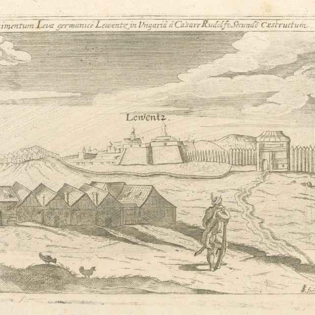 Levice - Stredoeurópsky grafik LS zo 17. storočia