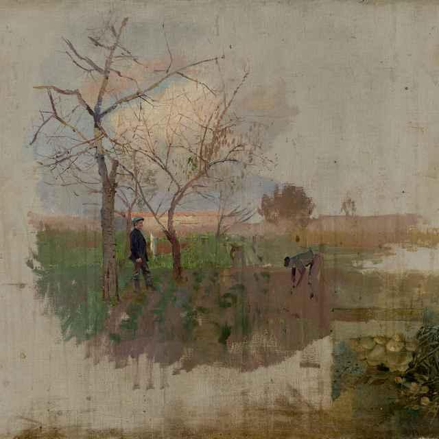 Jeseň v sade - Mednyánszky, Ladislav - Výtvarné umenie