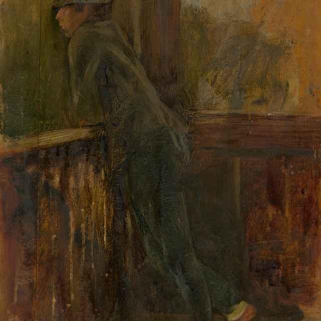 Chlapec na verande - Mednyánszky, Ladislav