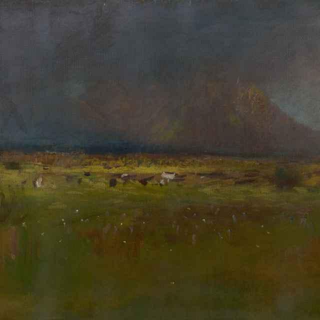 Vysoké Tatry pred búrkou