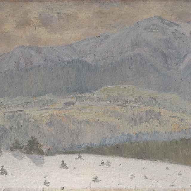 Zimný deň vo Vysokých Tatrách - Katona, Ferdinand