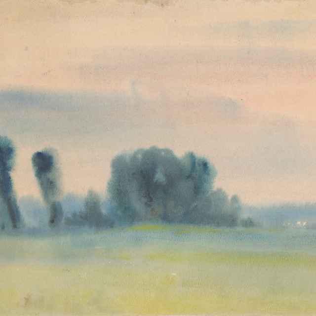 Stromy na lúkach - Palugyay, Zolo