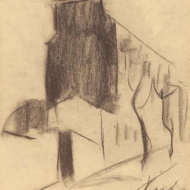 Kresba domu v Paríži - Palugyay, Zolo