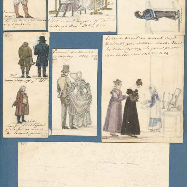 Album kresieb z rokov 1817 - 1870