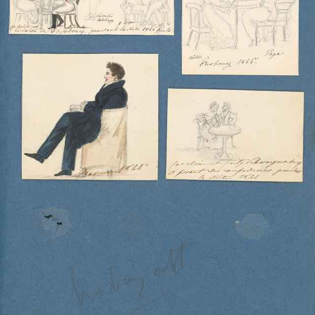 Album kresieb z rokov 1817 - 1870 - Odescalchi, Henriette