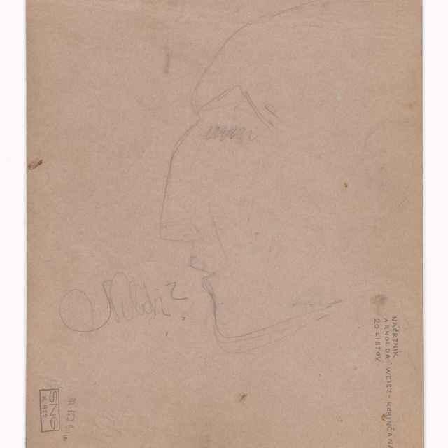 Skicár (20 listov) - Weisz-Kubínčan, Arnold Peter