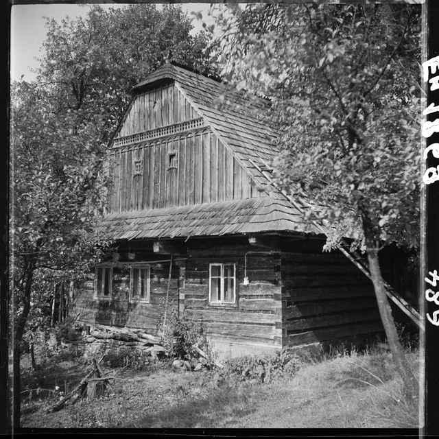 Fotonegatív čiernobiely Korňa