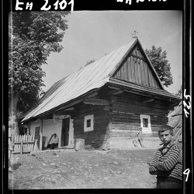 Fotonegatív čiernobiely Stará Bystrica