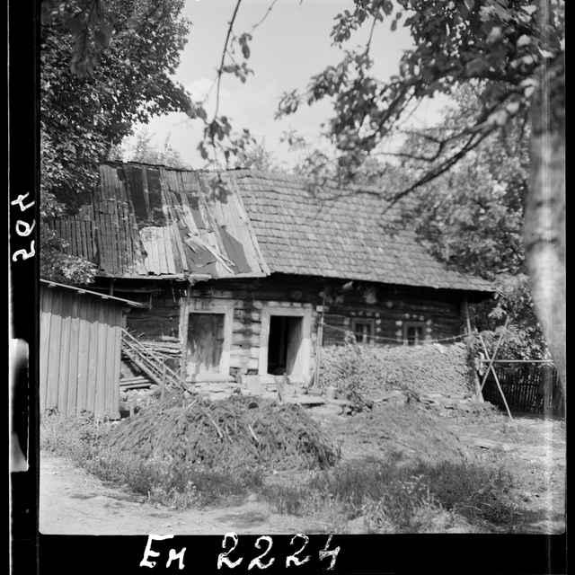 Fotonegatív čiernobiely Brvnište