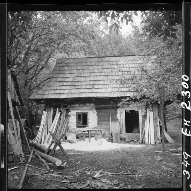 Fotonegatív čiernobiely Horná Maríková