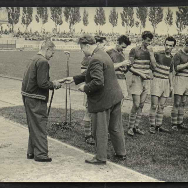 Foto:víťaz pohára SNP-futbalisti Ziliny 1956