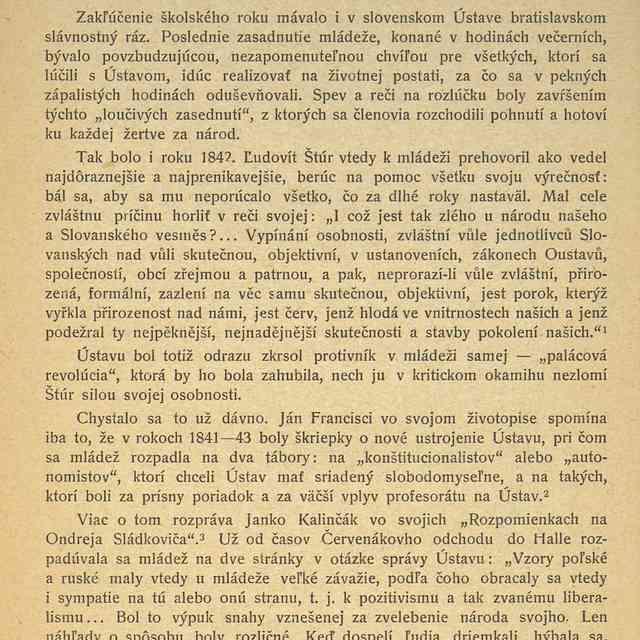 LIST ĽUDOVÍTA ŠTÚRA DR. STAŇKOVI. - Kleinschnitzová, Flora