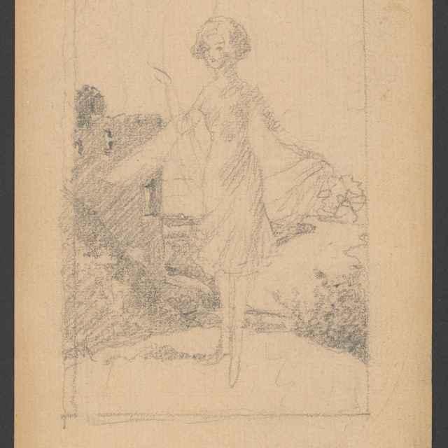 Mladá žena v kroji 2. - Žabota, Ivan