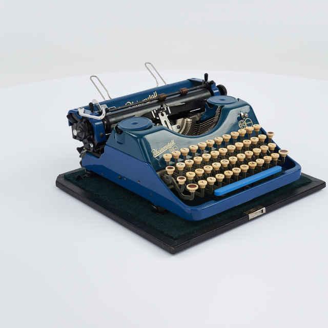 Stroj písací zn. Rheinmetall