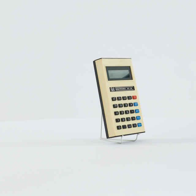 Kalkulačka elektronická zn. Elektronika