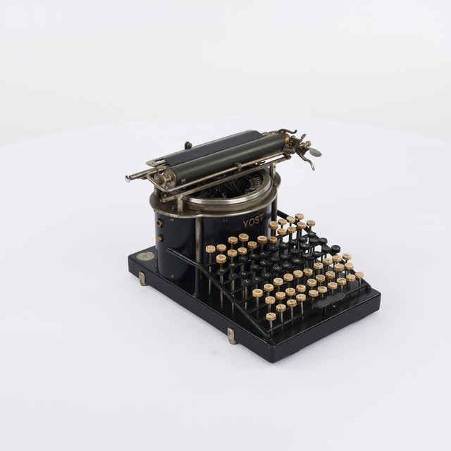 Stroj písací zn. Yost - George Washington Newton Yost