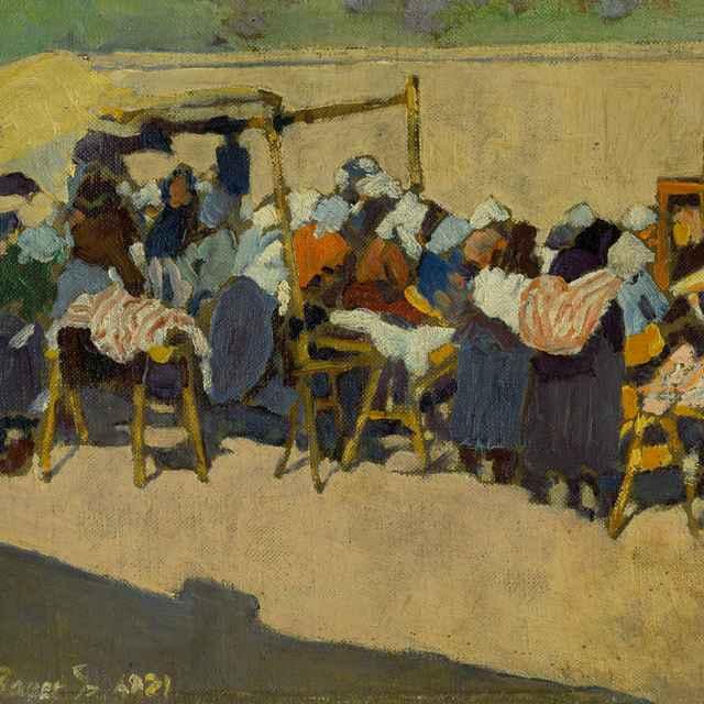Na trhu - Bauer, Konštantín
