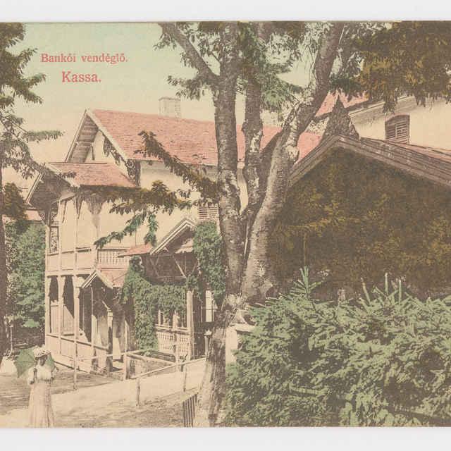 Pohľadnica KE - hotel Bankov