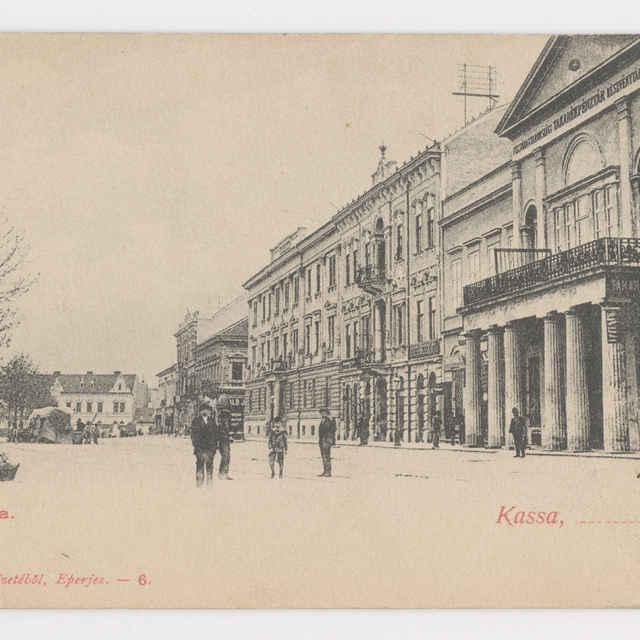 Pohľadnica KE - Hlavná ulica