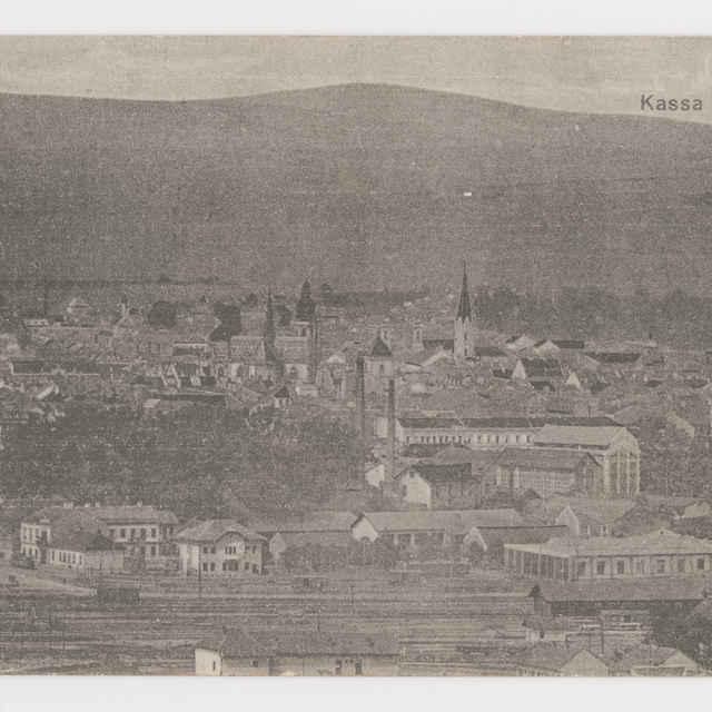 Pohľadnica KE - pohľad na Košice