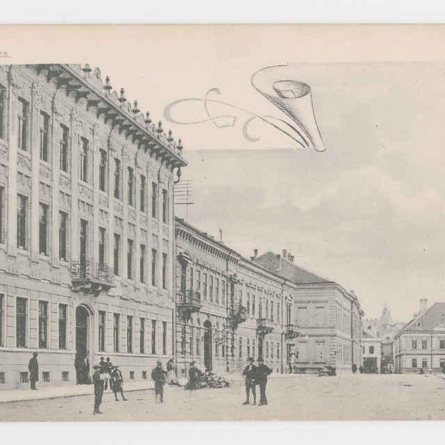 Pohľadnica KE - Pivovarská ulica