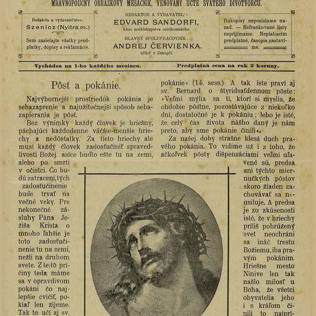 Posol svätého Antona