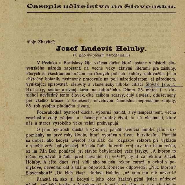 Slovenská škola