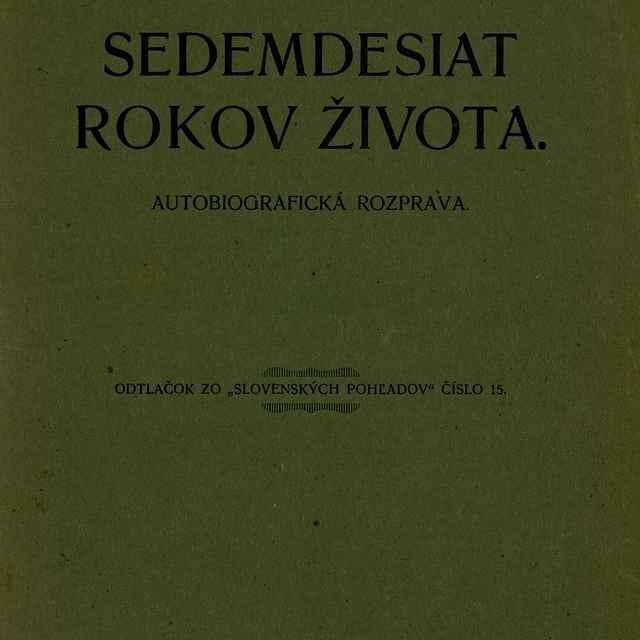 Sedemdesiat rokov života - Šoltésová, Elena Maróthy