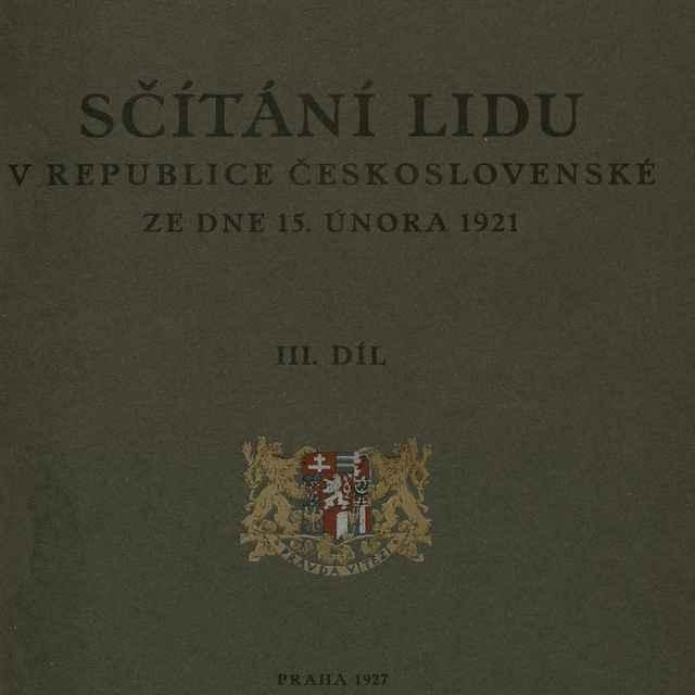 Sčítání lidu v republice Československé ze dne 15. února 1921