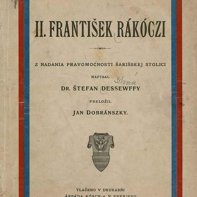 II. František Rákóczi - Dessewffy, István
