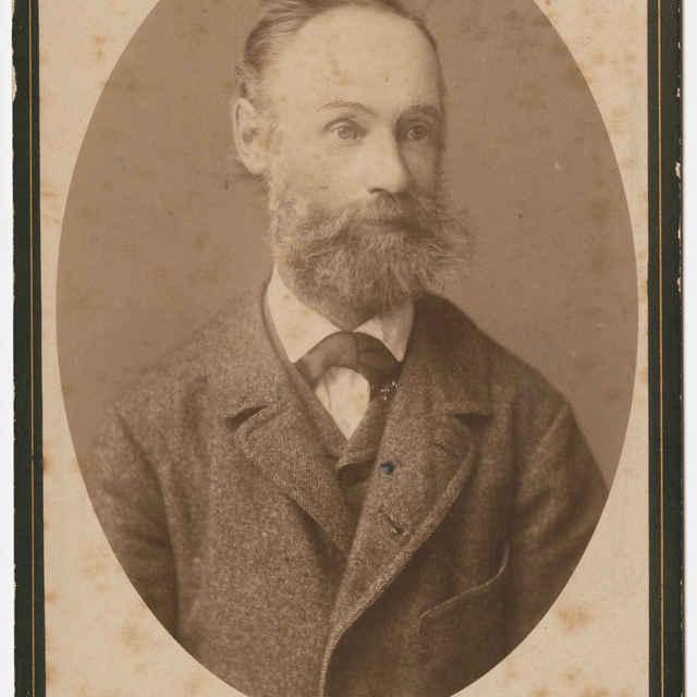 Foto otca fotografa Istvána Kissa v prevedení Karola Divalda mladšieho - Muzeálny objekt