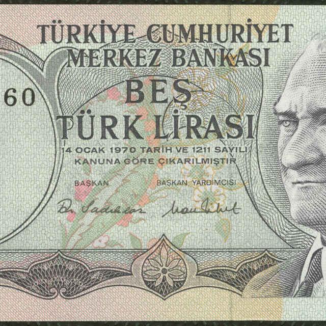 Bankovka 5 türk lirasi (krajina)