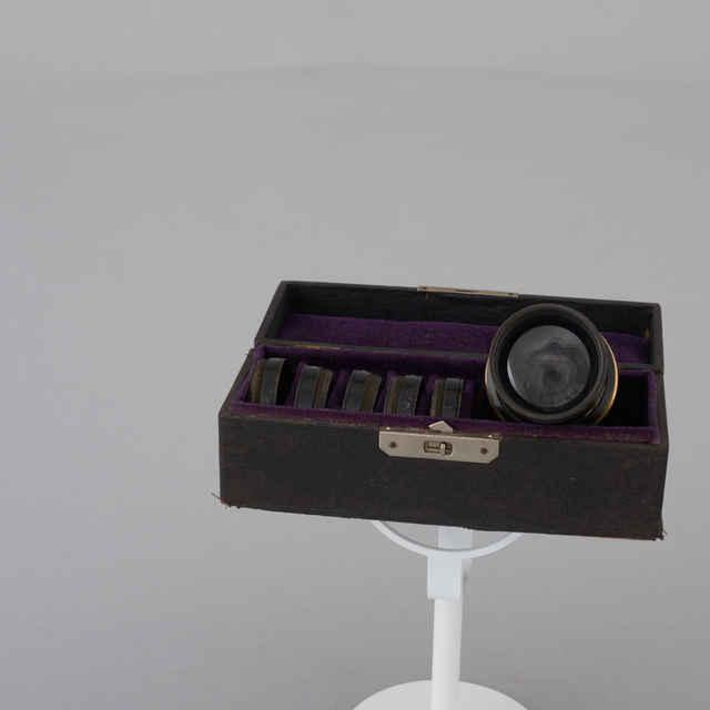 Objektív sádkový - Muzeálny objekt
