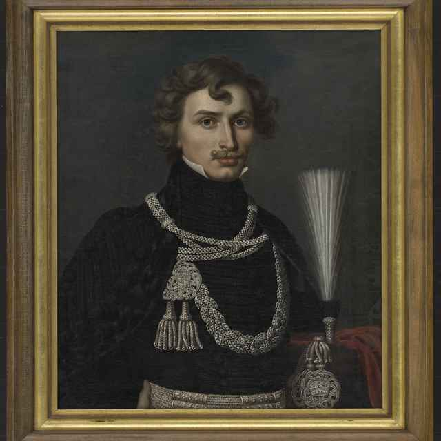 16f4eae46 Portrét Štefana Dienesa. - Rombauer, Ján