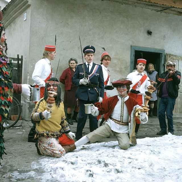Fašiangová obchôdzka v Šaštíne