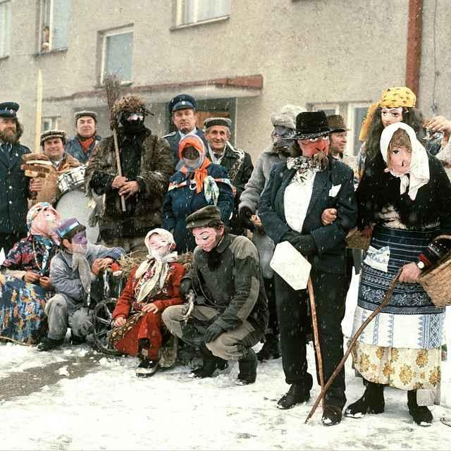 Fašiangová obchôdzka v Lietave