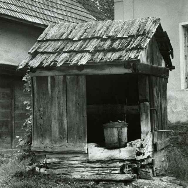 Studňa v obci Hybe